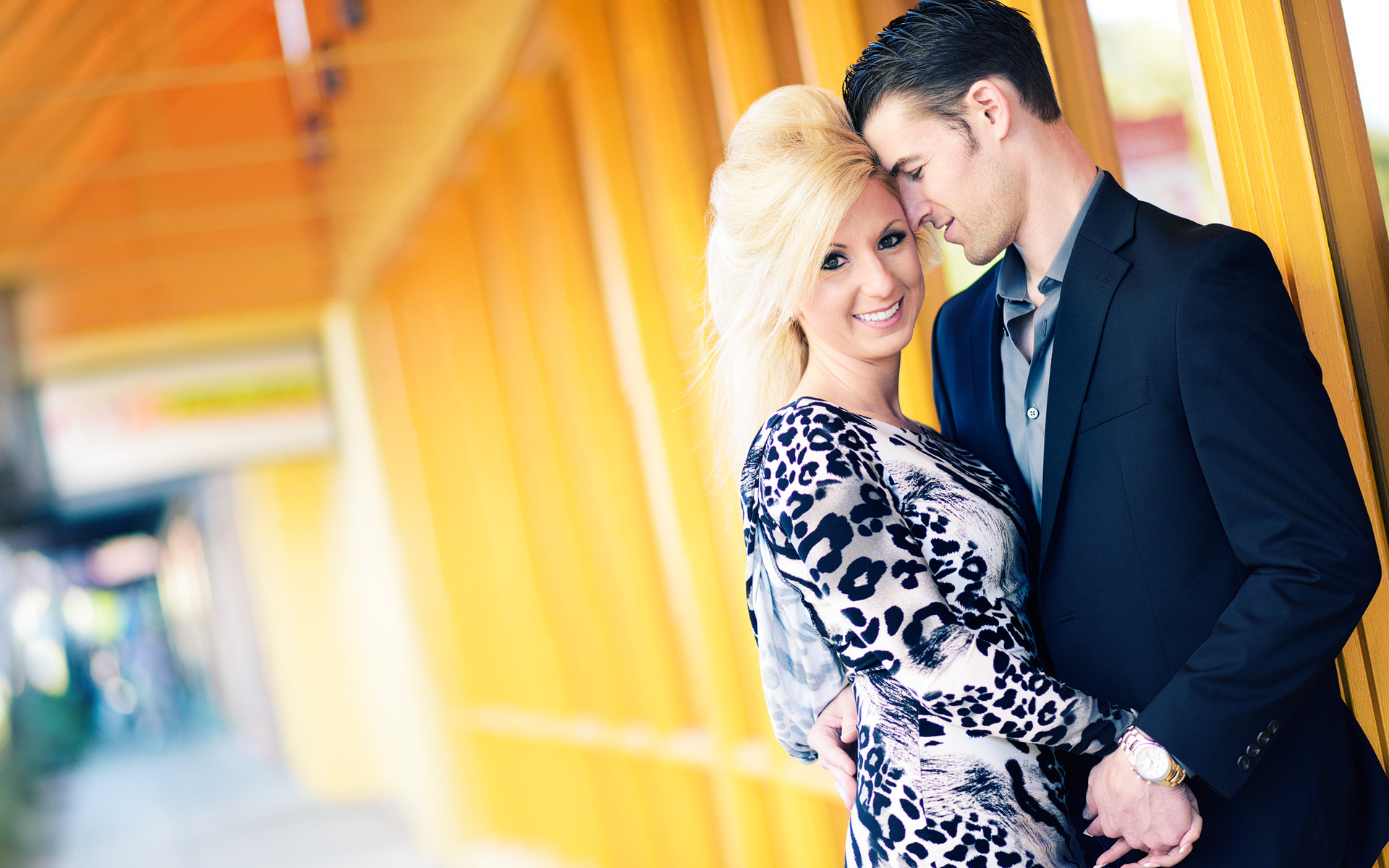 Hip Engagement Pictures
