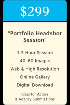 """Portfolio"" Headshot Package"