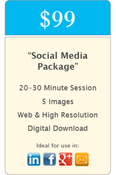 """Social Media"" Headshot Package"