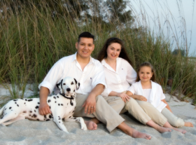 Amazing Beach Portraits Family