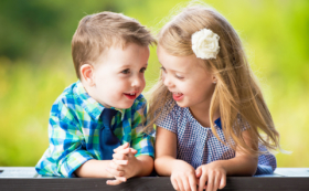 Cute Moment Family Children Photo