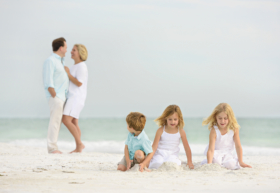 Memorable Family Portrait Beach
