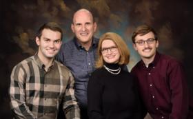 Classic Studio Family Portrait